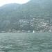 La cote vue de l'île