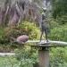 Statue et Paon