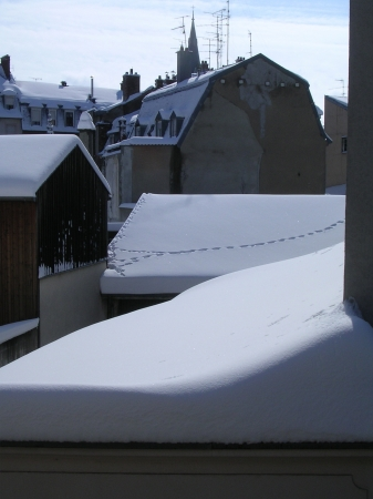 Mulhouse enneigée