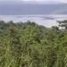 Le lac de Bosumtwi au loin
