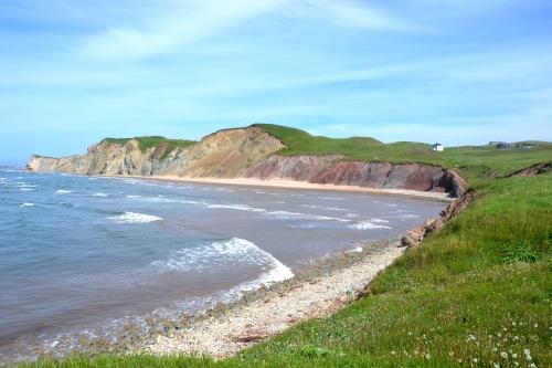 québec,îles,madeleine,golfe,saint-laurent,océan,falaises,fumoir,antan,hareng