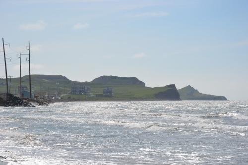 québec,îles,madeleine,golfe,saint-laurent,océan,falaises