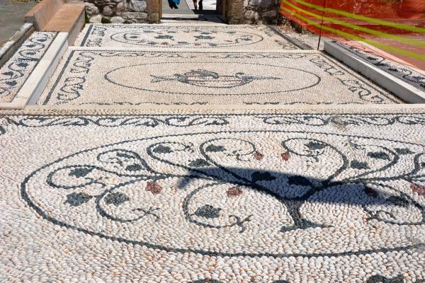 mosaique,Rhodes,Grèce