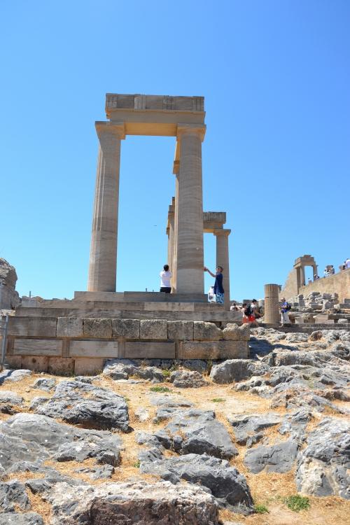 Citadelle,acropole,Lindos,Rhodes