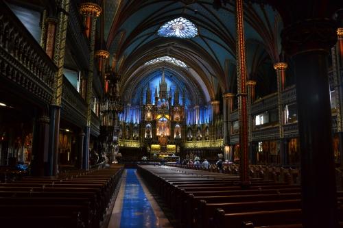 montréal,voyage,cité,canada,cathédrale,sacré,choeur