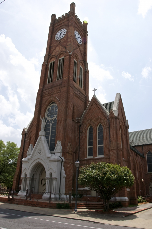 saint,xavier,cathdrale,alexandria,louisiane