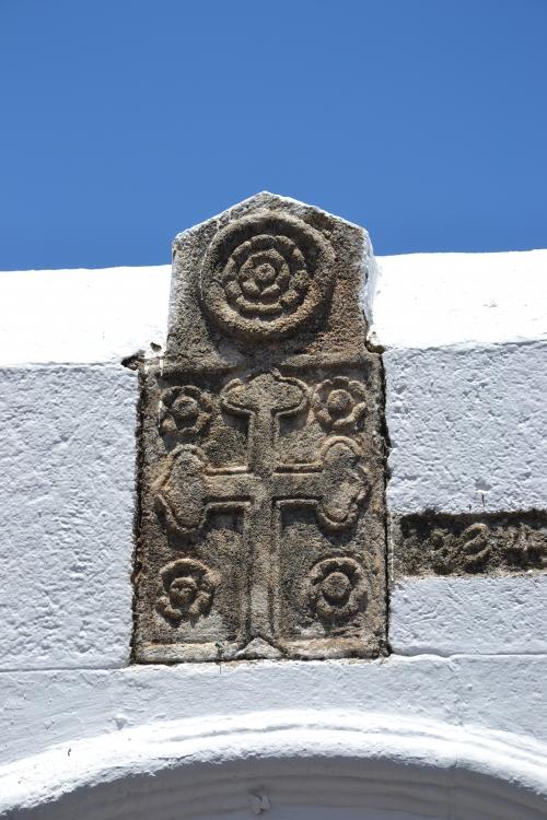 eglise, croix, Lindos