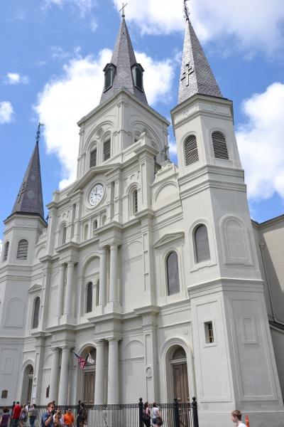 nouvelle orléans,cathédrale,mississipi,jackson square
