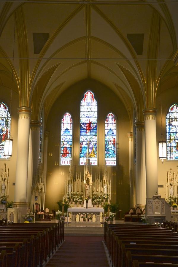saint,xavier,cathédrale,alexandria,louisiane