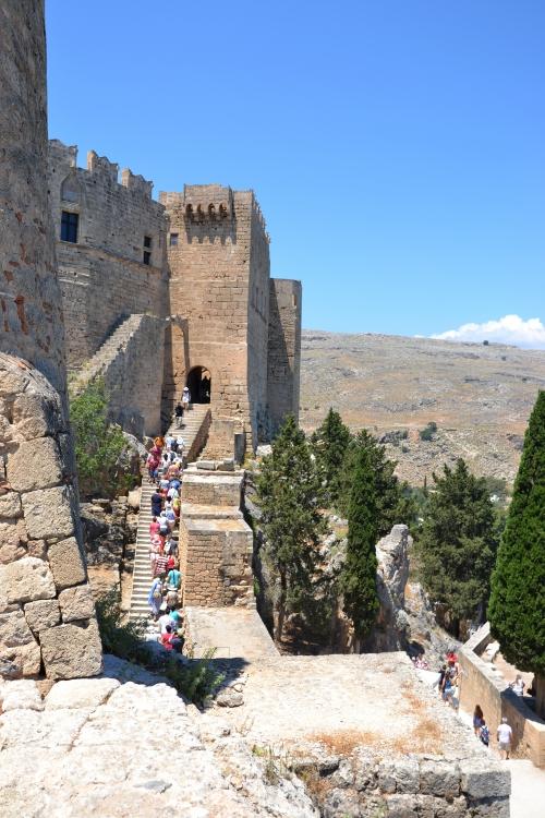 Citadelle,acropole,Rhodes